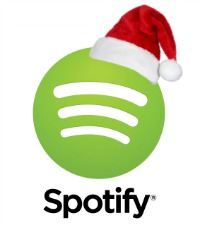 group spotify christmas holiday playlist
