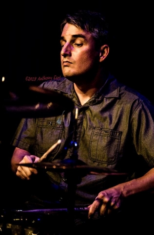 Steve Saviano Playing drums for Cass Clayton Band